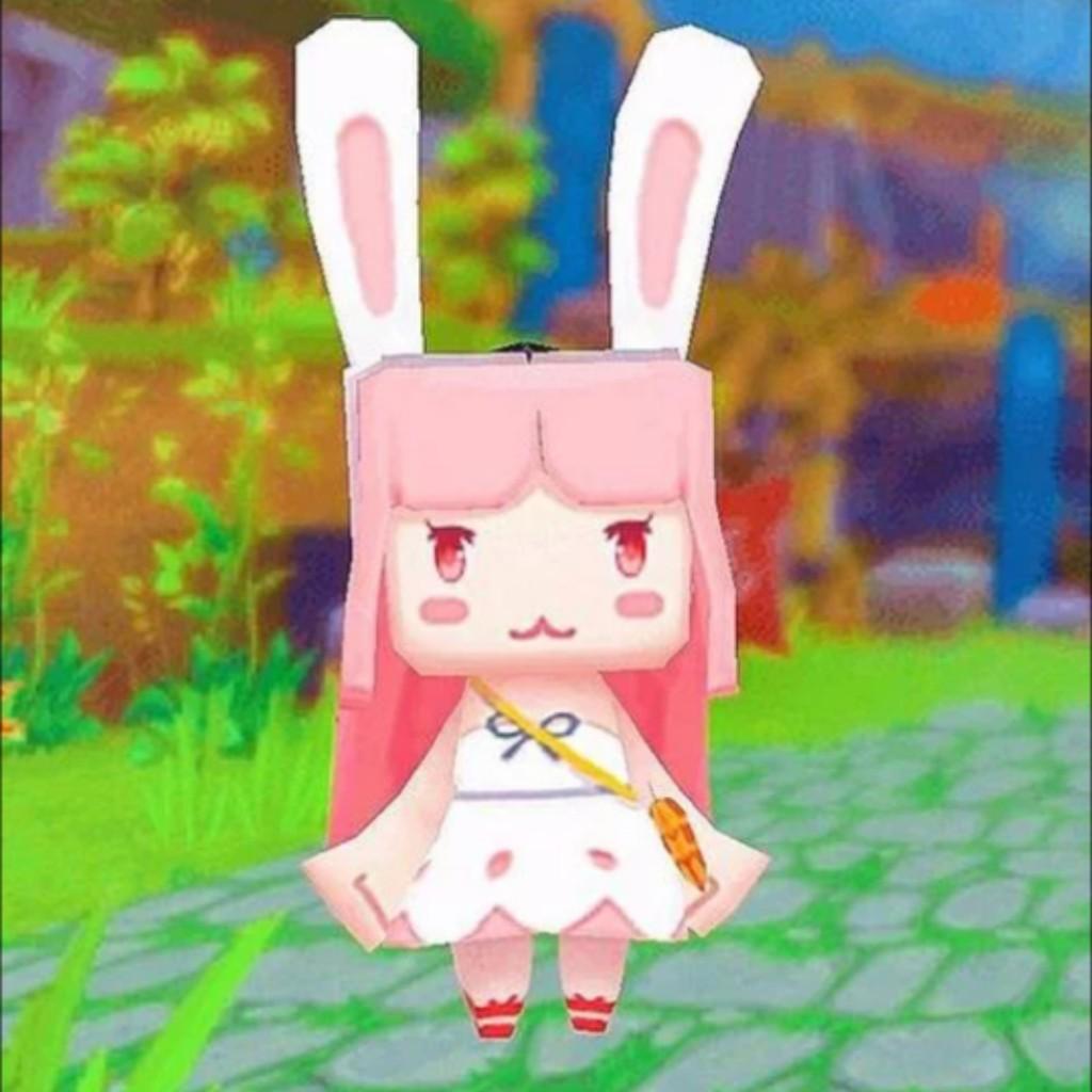可爱的兔星